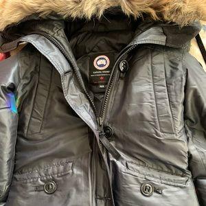 Canada Goose black jacket XS